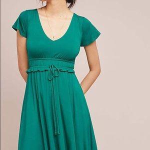 Maeve Resfeber Flutter Sleeve Dress NWT